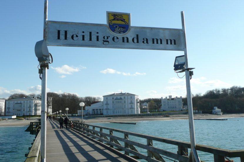 Heiligendamm Seebrücke + Schild